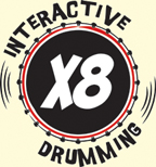 X8 Interactive Drumming